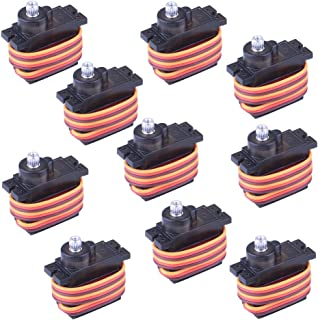 Longruner 10Pcs MG90S Metal Geared Micro Servo Motor 9G For Helicopter Airplane Boat Controls mini Servo 450 LKY61
