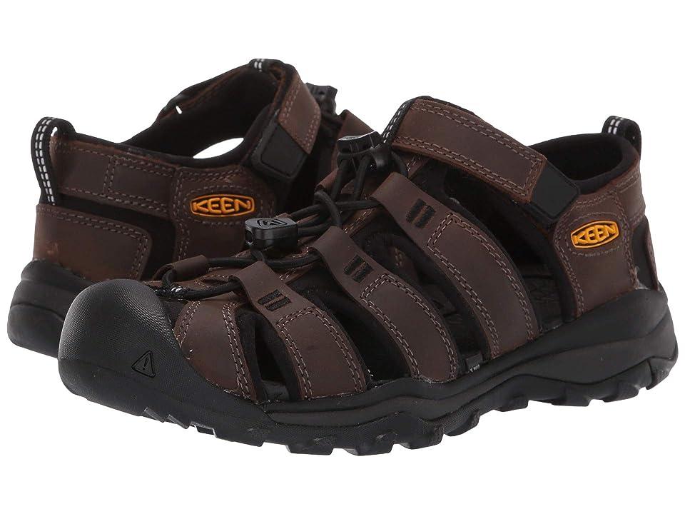 Keen Kids Newport Neo Premium (Little Kid/Big Kid) (Dark Brown) Boys Shoes