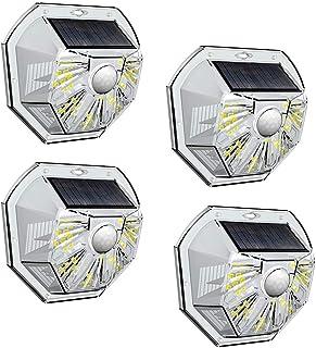 VOSONX Solar Lights Outdoor - Wireless Light Sensor & Motion Sensor Light, 40 LEDs Solar Powered LED Wall Light, IP67 Wate...