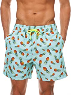MODCHOK Men's Shorts Swim Trunks Pants Quick Dry Beach Shorts Boardshort Swimwear Holiday