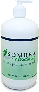 Sombra Warm Therapy Natural Pain Relieving Gel, 32-Ounce
