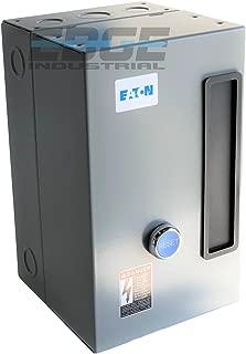 EATON A27CGD25B016 MAGNETIC MOTOR STARTER 5HP 3 PHASE 208-230 VOLT 25 AMP DEFINITE PURPOSE STARTER CONTROL