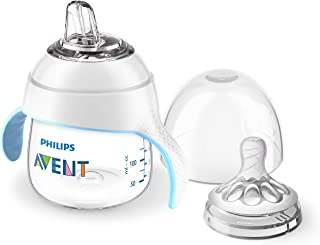 Philips Avent Natural Trainer Sippy Cup with Fast Flow...