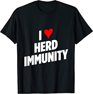 I Heart Herd Immunity T-Shirt