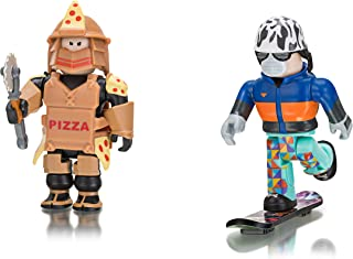 Roblox- Loyal Pizza Warrior and Shred: Snowboard Boy (Two Figure Pack)