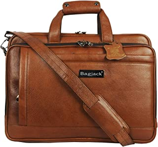 BAG JACK - Natural Grain Leather | Handcrafted | Aldebaran | Style of The Modern, Intelligent Traveller | Leather Office B...