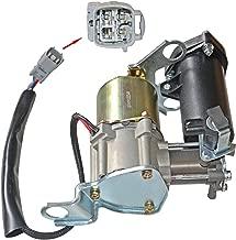 Air Suspension Compressor pump 48910-60041 Compatible For Lexus GX470 Toyota 4-Runner Land Cruiser Pardo 48910-60021 48910-60040 … (TY001)