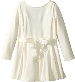 Belted Jersey Dress (Toddler)
