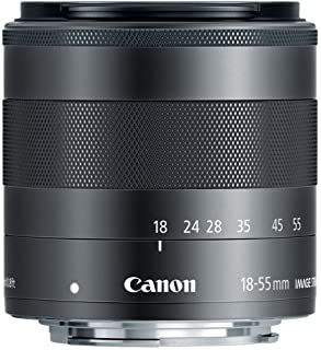Canon EF-M 18-55mm f3.5-5.6 is STM Compact System Lens