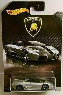 Hot Wheels 2017 Lamborghini Series Lamborghini Reventon Roadster 6/8, Silver