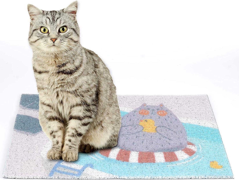 Cat Litter Mat Colorado Kansas City Mall Springs Mall Cute Cartoon Pattern litter Small Mats Fl for