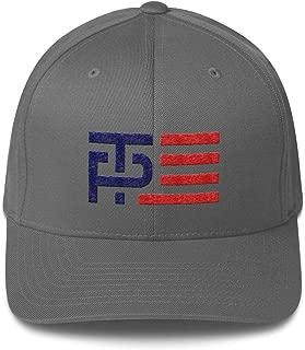 LiberTee Trump Pence 2020 Make America Great Again Flex-Fit Hat for Men and Women, President Trump MAGA Cap, Printed in USA