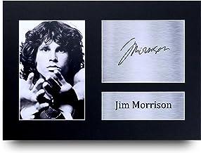 HWC Trading Jim Morrison - Fotografía Impresa (tamaño A4), diseño de Jim Morrison