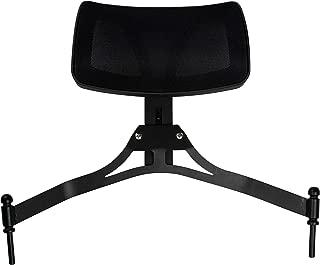 Ver Beauty Aluminium Director Makeup Chair, Black Matte
