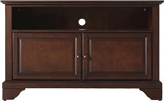 Crosley Furniture LaFayette 42-inch TV Stand - Vintage Mahogany