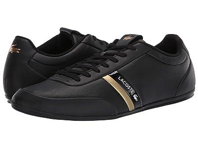 Lacoste Storda 120 1 U (Black/Gold) Men