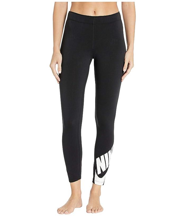 Nike Sportswear Legasee Leggings 7/8 Futura (Black/White) Women