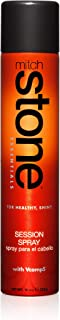 Mitch Stone Session Spray Hairspray - 10 oz. Medium Hold, Flexible, Brushable, Working Hair Spray For Evening Looks, Iron Curls, Heat Styling, Roller Sets. Adds Hold and Control, Body, Adds Root Lift