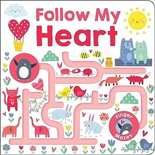 Maze Book: Follow My Heart (Finger Mazes)