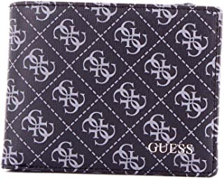 Luxury Fashion | Guess Mens SM2638LEA24BLACK Black Wallet | Fall Winter 19
