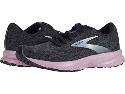 Brooks Launch 7 (Black/Ebony/Valerian) Women