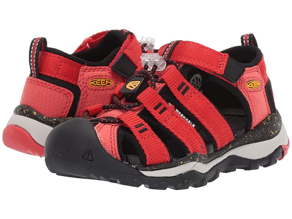 Keen Kids Newport Neo H2 (Toddler/Little Kid) (Fiery Red/Golden Rod) Boys Shoes