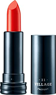 Village 11 Factory Real Fit Muse Lipstick Matte Lipstick Long Lasting and Moisturizing (Pomelo Red)