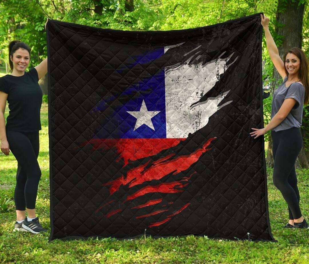 Wholesale Personalized Special Grunge Style Quilt Chile in Me - Quil Houston Mall