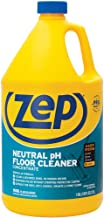 Zep Neutral pH Floor Cleaner Concentrate 1 Gallon ZUNEUT128 - Pro Trusted All-Purpose Floor Cleaner with No Residue,Blue (packaging may vary)