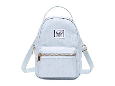 Herschel Supply Co. Nova Crossbody (Ballad Blue Pastel Crosshatch) Handbags