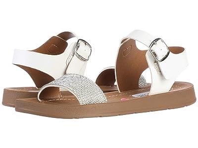 Steve Madden Kids Jprobler (Little Kid/Big Kid) (White Glitter) Girls Shoes