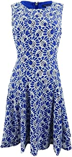 Womens Lace Sleeveless Cocktail Dress