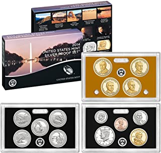 2014 S US Mint Silver Proof Set (SW1)
