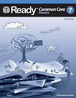 California 2014 Grade 7 Common Core Practice Test Prep Book Set for Math and Reading, SBAC Standard