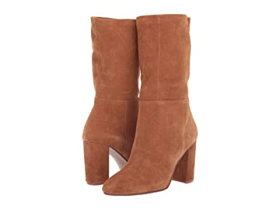 Chinese Laundry Keep Up (Honey Brown Suede) High Heels