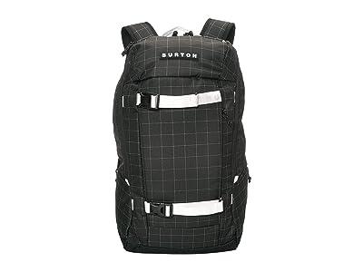 Burton Kilo 2.0 Backpack (True Black Oversized Ripstop) Backpack Bags