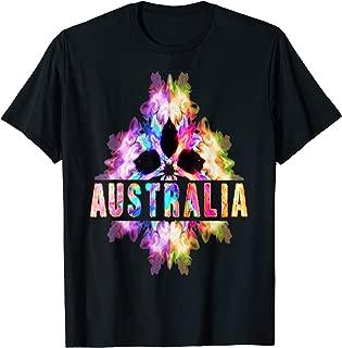 Australia Souvenir TShirt Australian Cultural Exchange Gifts