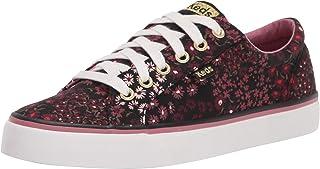 حذاء رياضي للسيدات من Keds يحمل شعار Jump Kick Floral لون أسود، مقاس 7.5 أمريكي