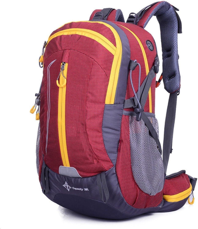 Großer Großer Großer Verpackbarer Praktischer Leichter Reise-Wanderausrüstung Rucksack-Tagesrucksack,rot-523020CM B074QNN3X6   Einzigartig  5dc9e2