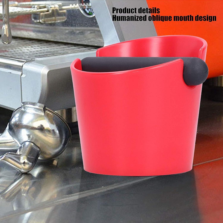 exquisite Kaffee-Klopfbox umweltfreundliche Mini Exposure Red leichte Kaffee-Klopfbeh/älter f/ür die Home Coffee Shop Milk Tea Shop Bar