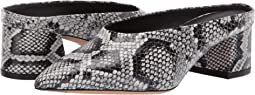 Sahara Snake Print Leather
