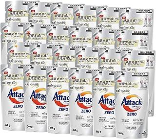 【ケース販売】アタック ゼロ(ZERO) 洗濯洗剤(Laundry Detergent) 詰め替え 360g×24個 (清潔実感! 洗うたび白さよみがえる)