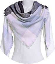 2018 Luxury Brand Cashmere Winter Scarf For Women Scarf Wool Plaid Blanket Scarf
