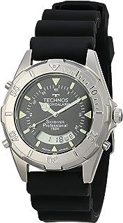 Relógio Technos, Pulseira de Aço Inoxidável, Masculino Preto T20562/2P