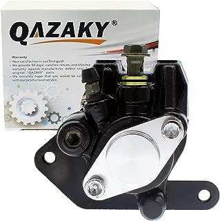 QAZAKY Rear Brake Caliper Replacement for Yamaha ATV YFM350 Warrior Wolverine Banshee YFZ350 350 Blaster YFS200 200 Raptor YFM125 YFM250 YFM660 125 250 660R Suzuki Quadsport Quadrunner LT230 230