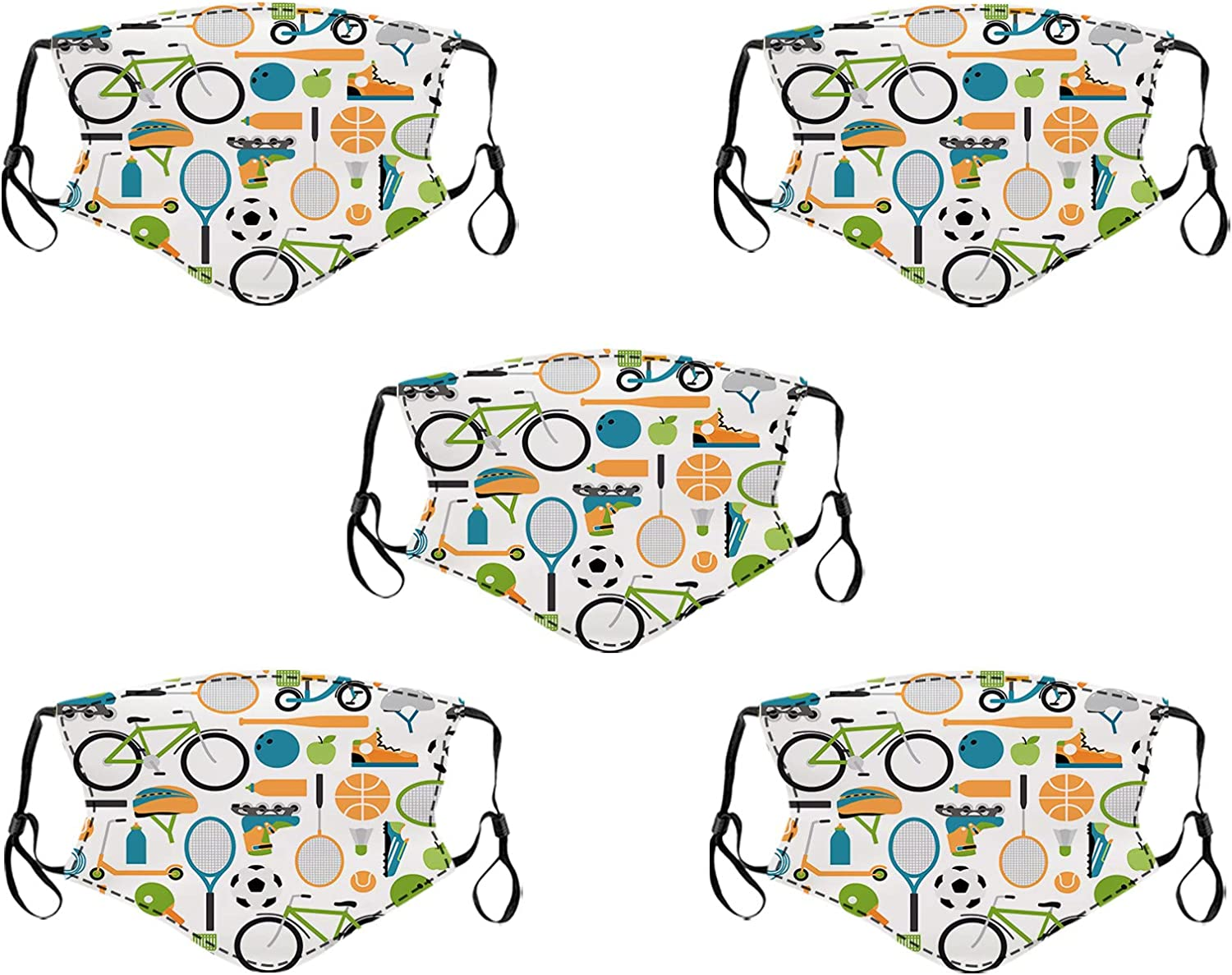 Yiwes Kids All items Ranking TOP16 in the store Face Masks - Reusable Protection Mask w UV Cloth