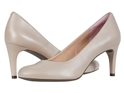 Rockport Total Motion Arabella Pump (Neutral Beige Leather) Women