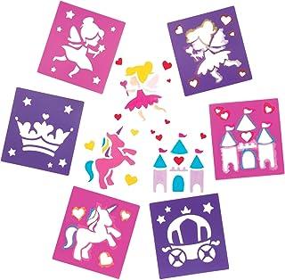 Baker Ross Pochoirs fées (Paquet de 6) - Loisirs créatifs