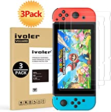 [3 Pack] Screen Protector Tempered Glass for Nintendo...