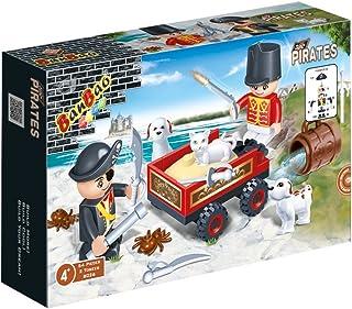 Banbao Cart & Figure, 8026, 54 Pieces